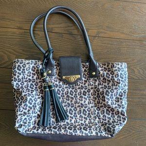 Tommy Hilfiger animal print purse shoulder bag